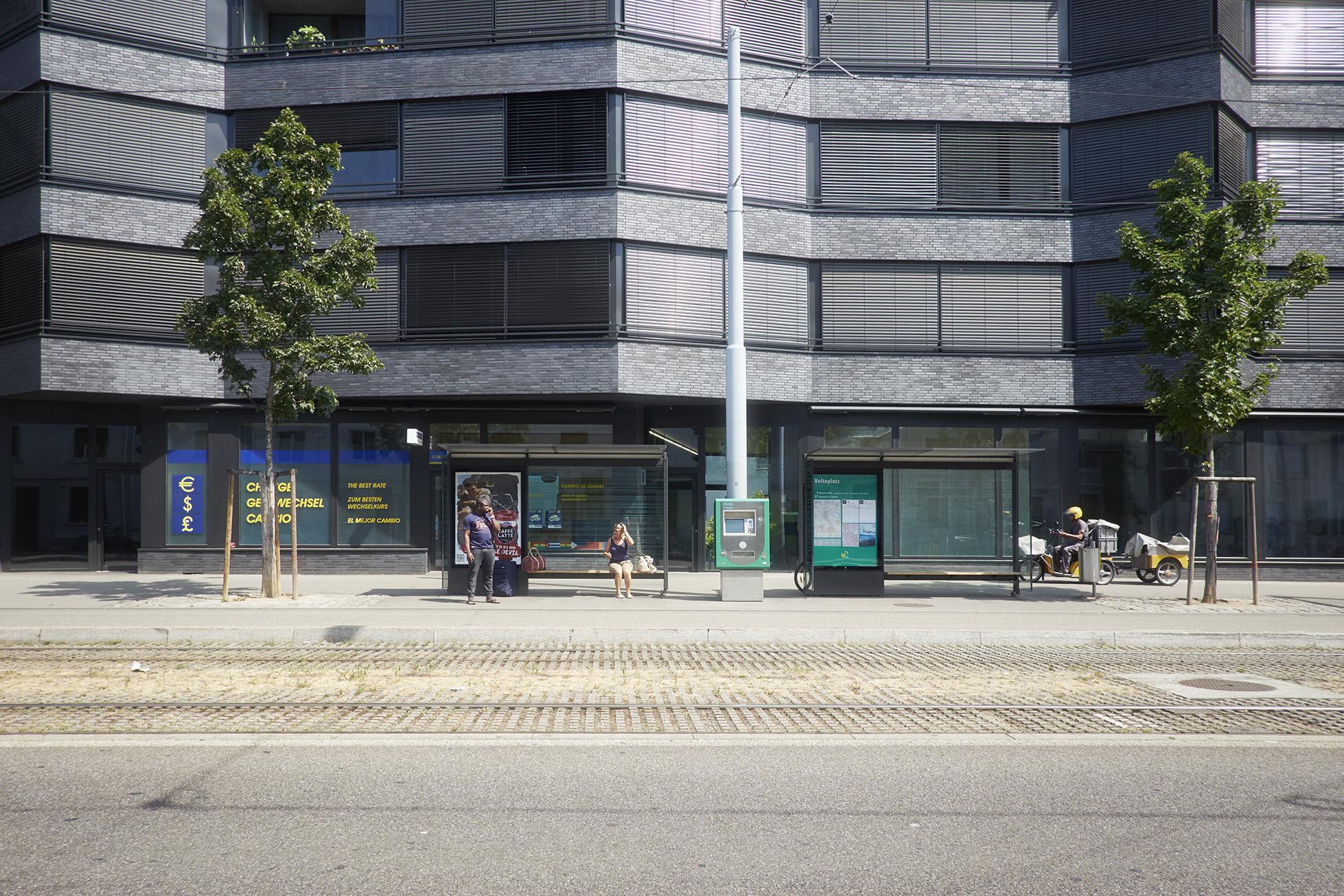 Der Voltaplatz – ein klassisches Entwicklungsgebiet der Stadt Basel.