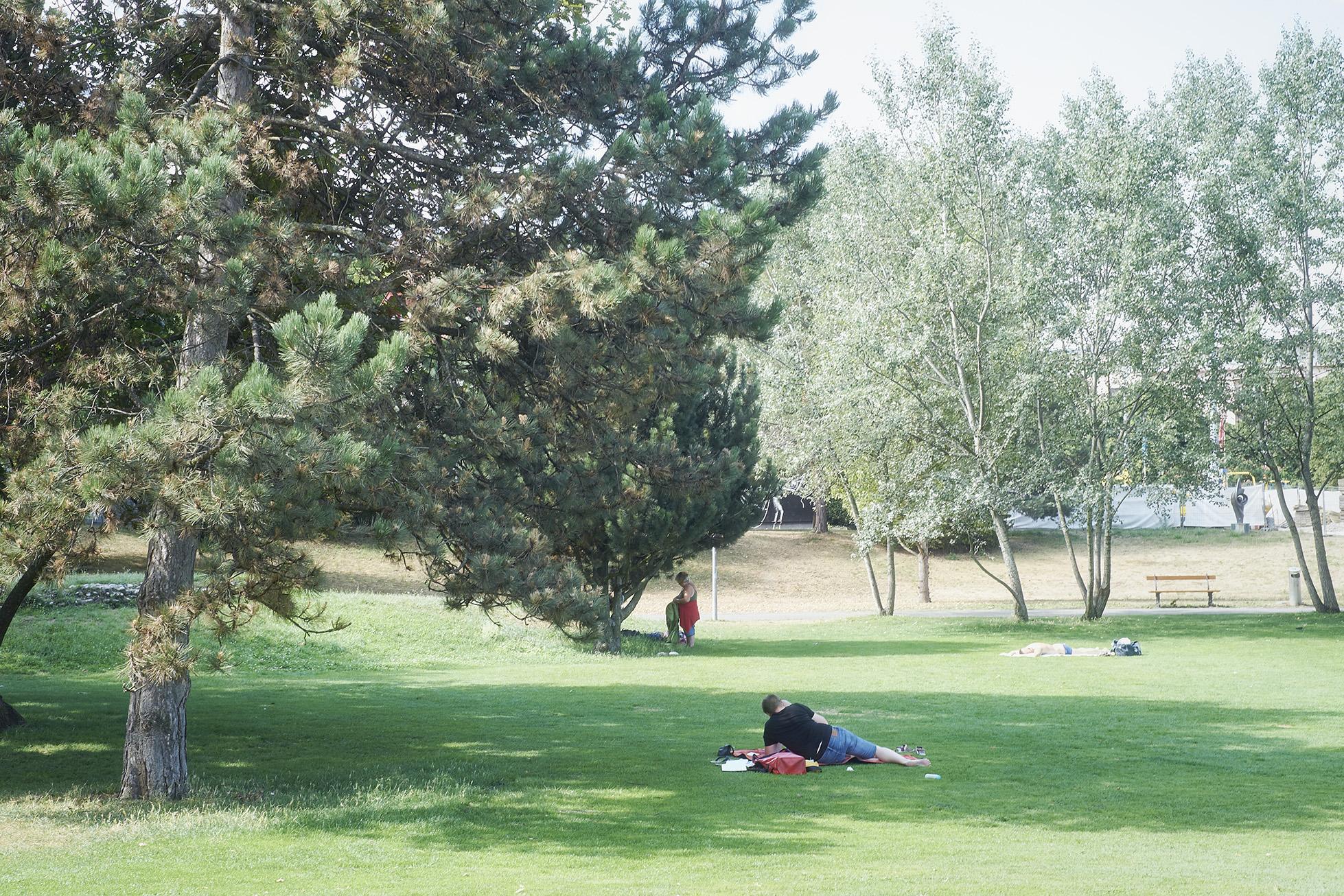 Chillen im Park, so gemütlich kann es im St. Johann sein.