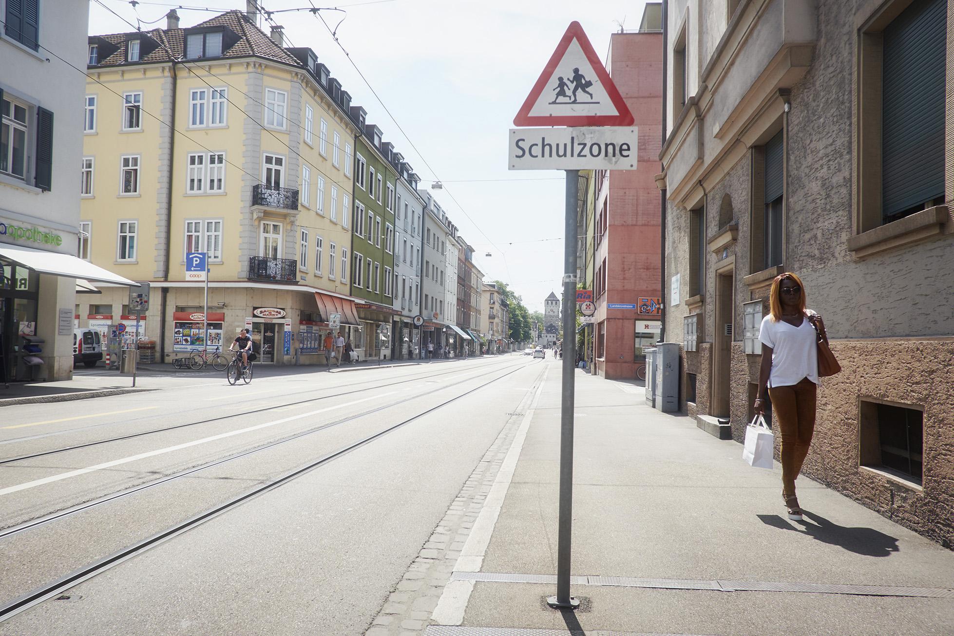 Die Elsässerstrasse ist eine Lebensader im Quartier, aber es gibt noch viel Handlungsbedarf.