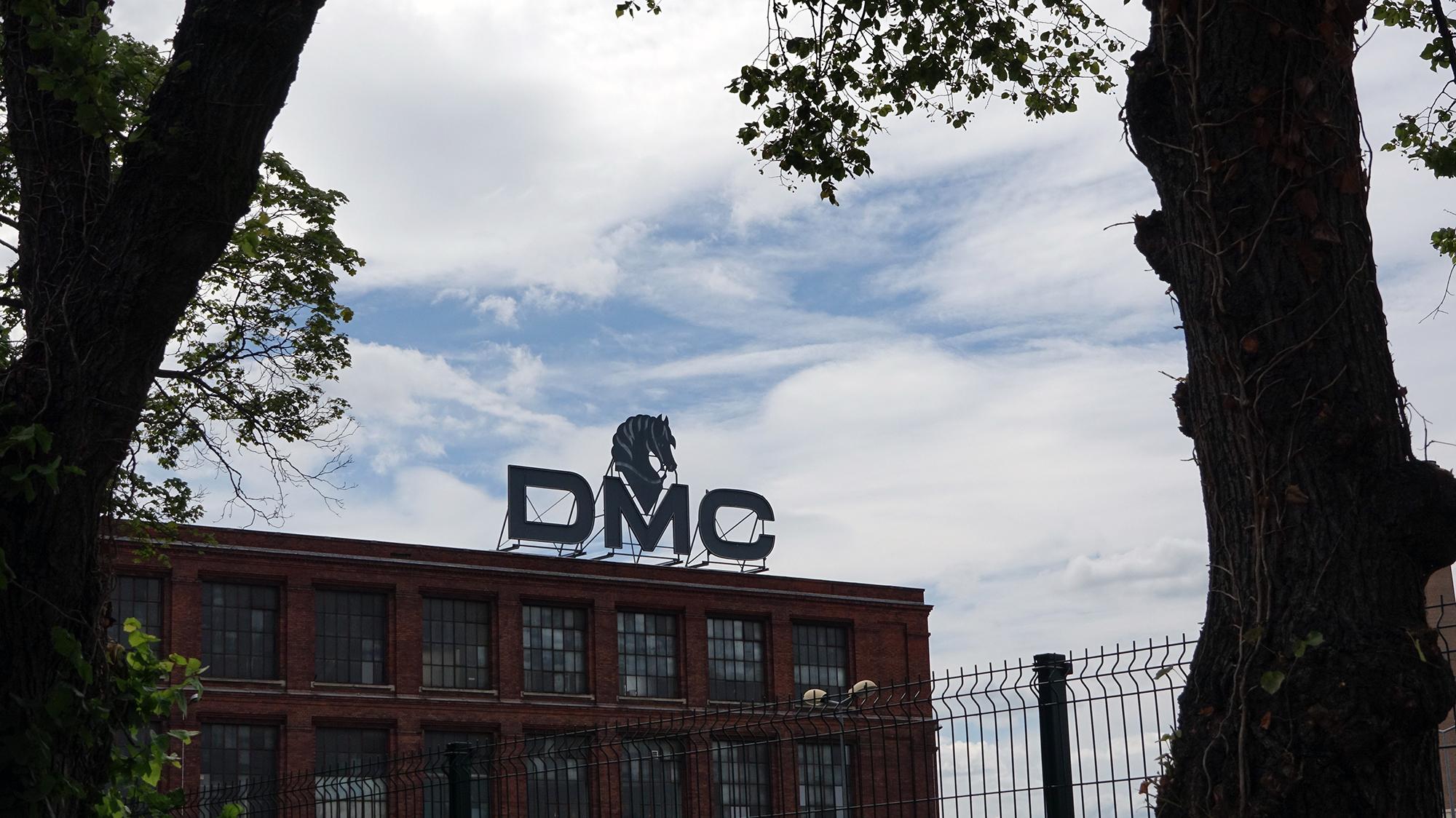 Mulhouse war einst eine sehr bedeutende Industriestadt, die Textilfirma DMC ein wichtiges Zugpferd.