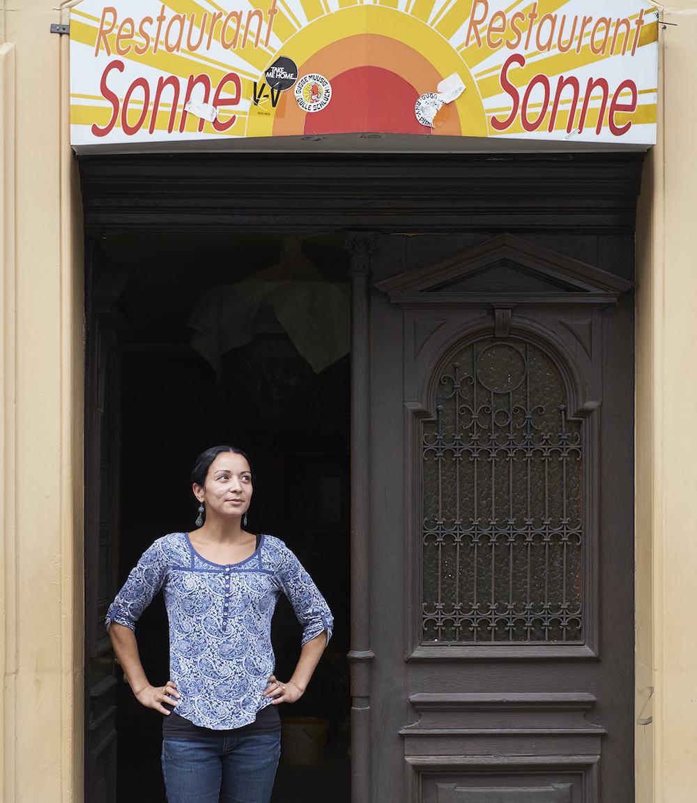 «Ich möchte, dass sich hier künftig ganze Familien wohl fühlen werden»: Jaqueline Marinho hat Grosses vor mit der legendären Sonne.