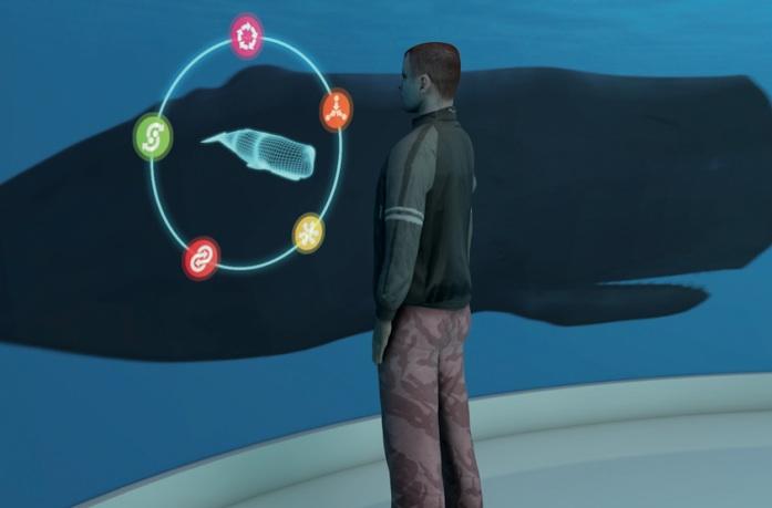 Ein virtuelles Tier beobachten soll nicht weniger lehrreich sein, finden die Ozeanium-Gegner.