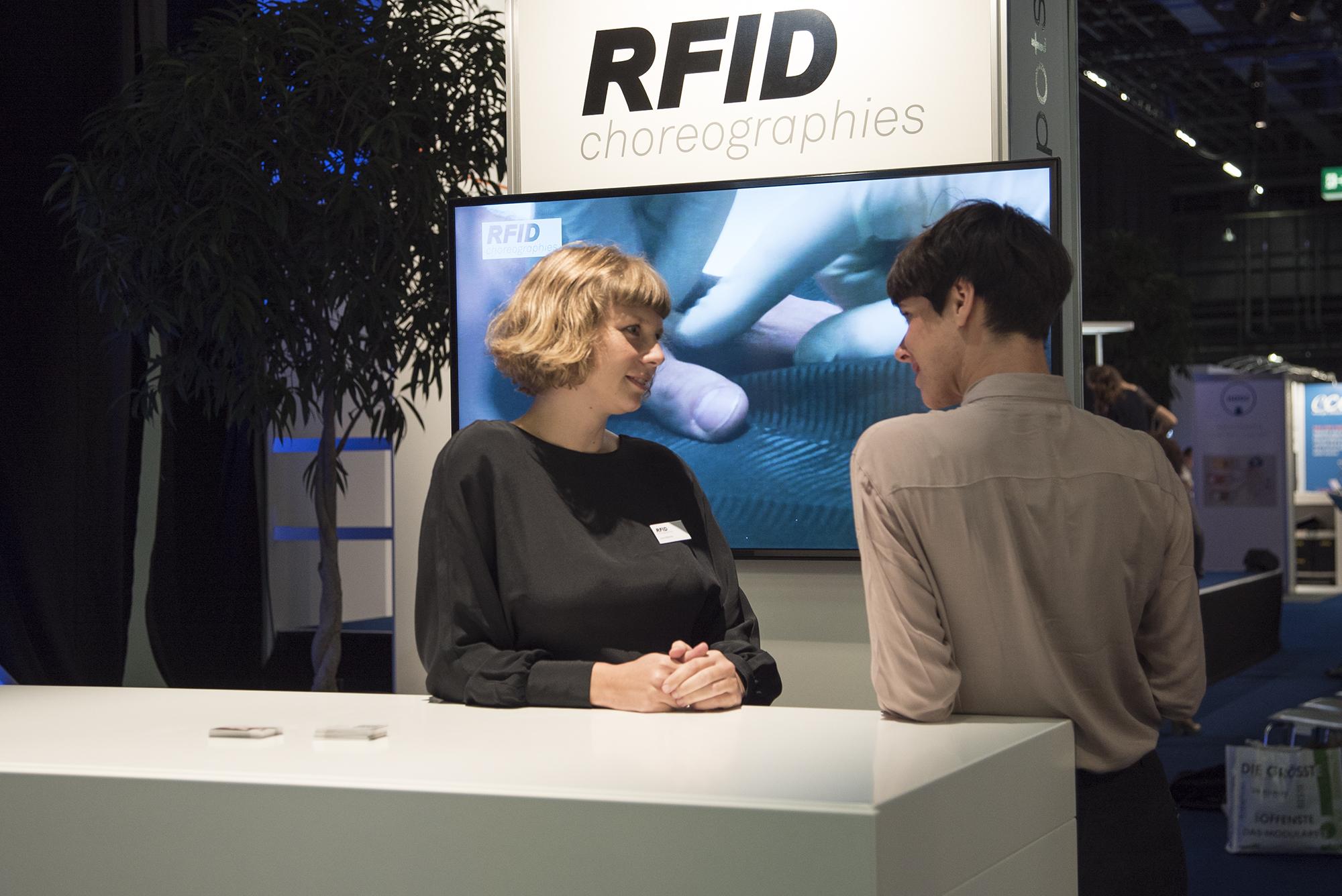 Willkommen am RFID-Stand!