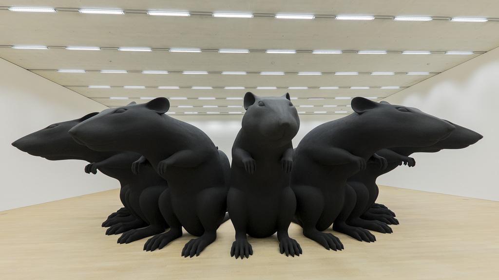 «Rat-King» (1993) von Katharina Fritsch.