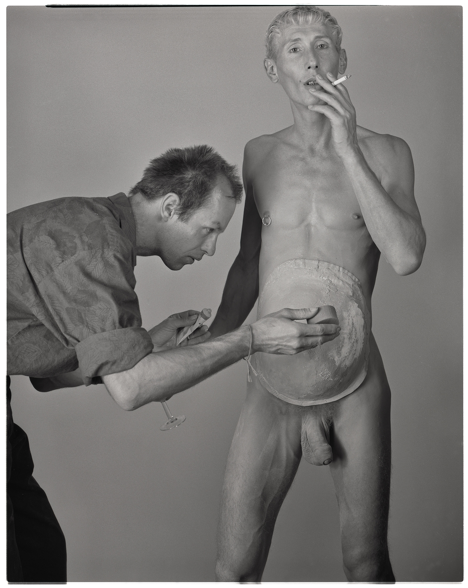 Making of Wahlplakat 1991.