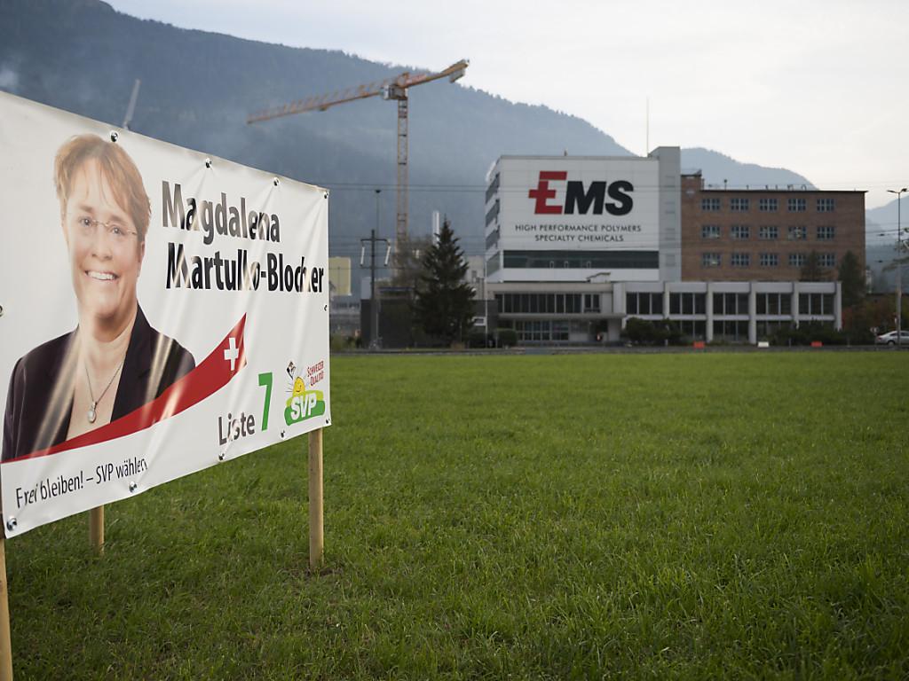 Magdalena Martullo-Blocher von der SVP Graubünden ist als Zürcherin für das Bündnerland in den Nationalrat gewählt worden.