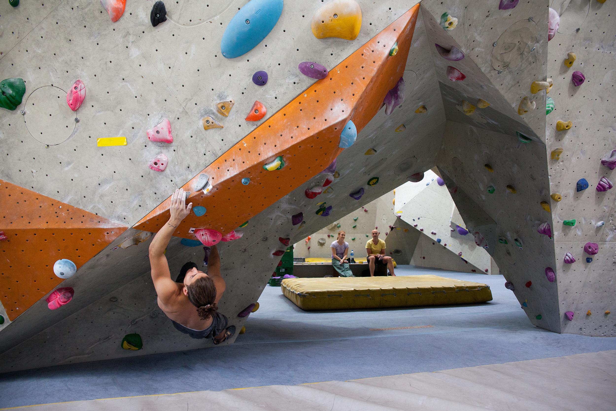 In der Boulderhalle B2 in Pratteln trainierte Marvin Silva wöchentlich rund 20 Stunden.