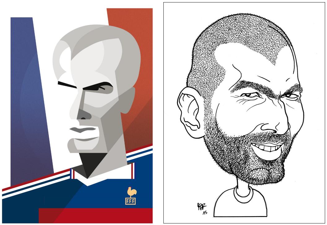 «tschutti heftli» Zinedine Zidane