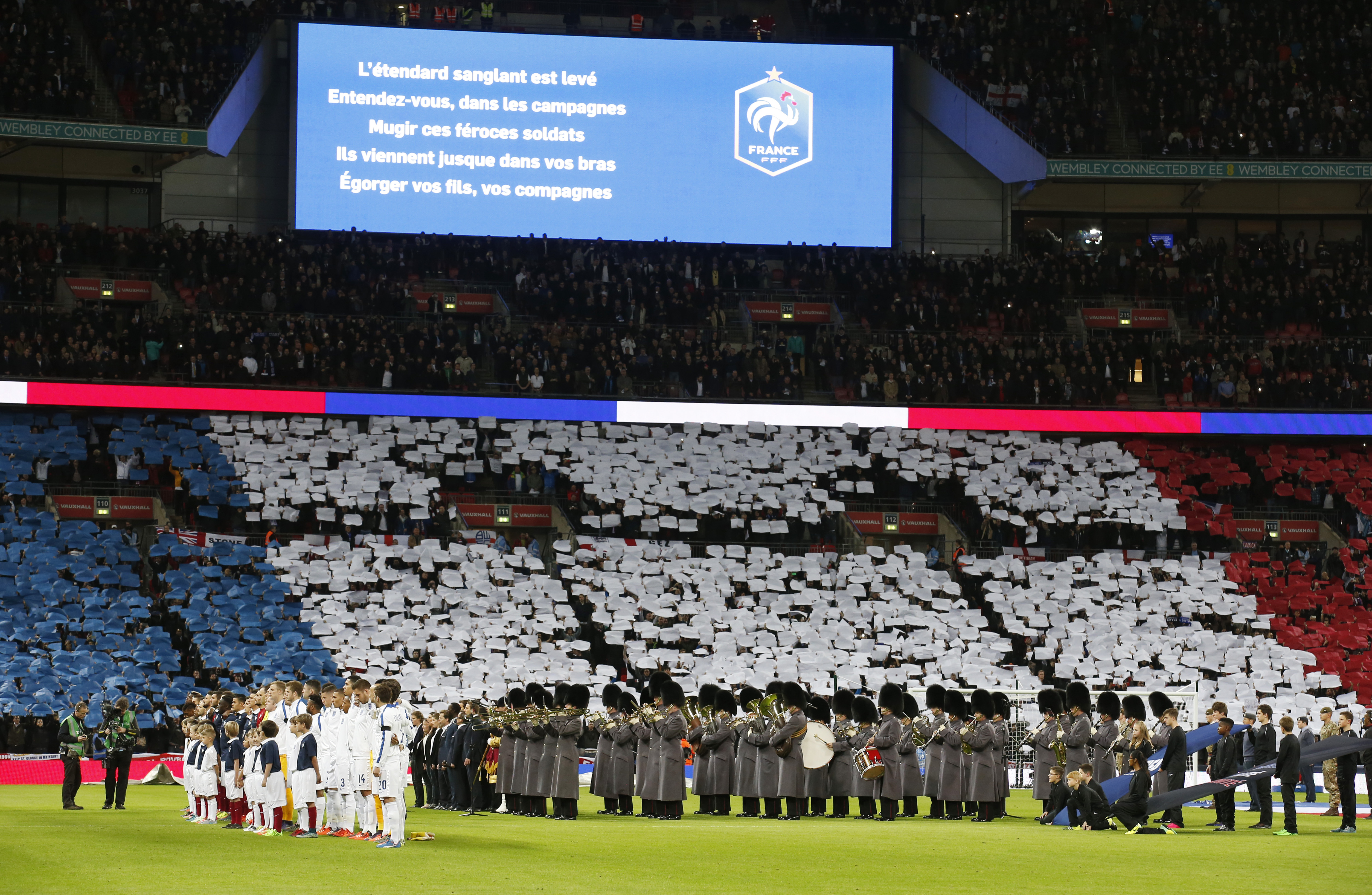 Football - England v France - International Friendly - Wembley Stadium, London, England - 17/11/15 General view before the match Action Images via Reuters / Carl Recine Livepic EDITORIAL USE ONLY.