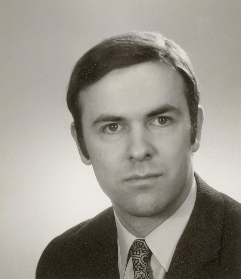 PaulBuchererauf einem Passbild von 1974.