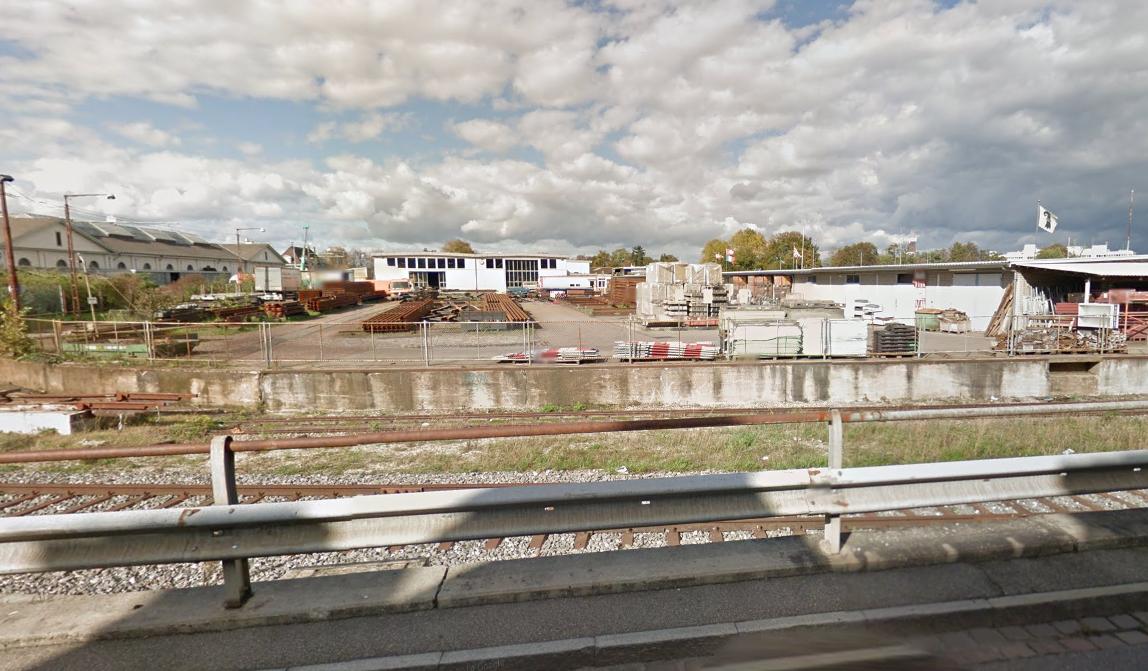 Auf dem Areal der ehemaligen BVB-Werkstätten beim Wolf-Gottesacker soll die Container-Siedlung entstehen.