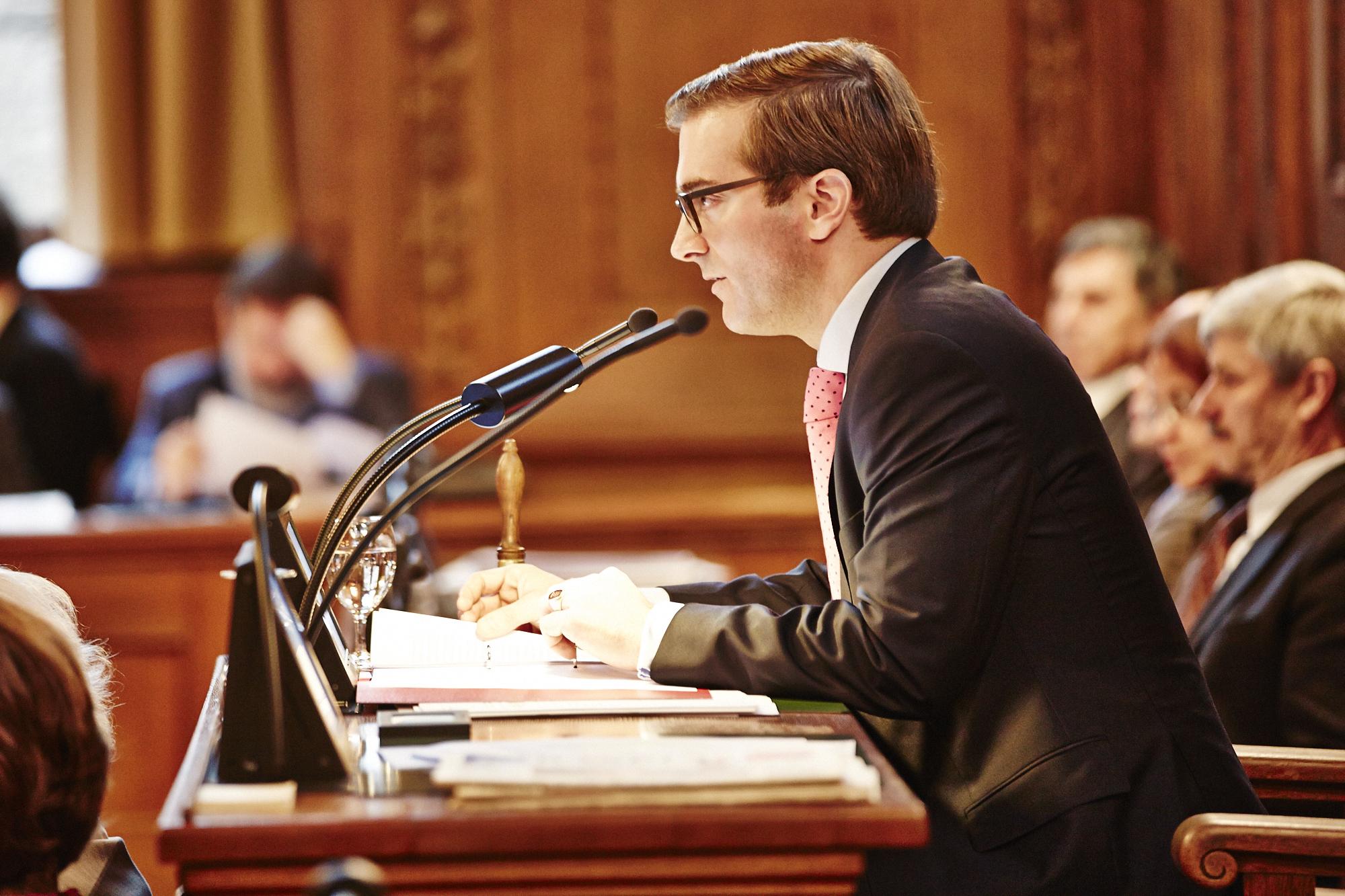 Conradin Cramer wurde fürs Amtsjahr 2013/2014 mit 90 von 98 Stimmen zum höchsten Basler gewählt.