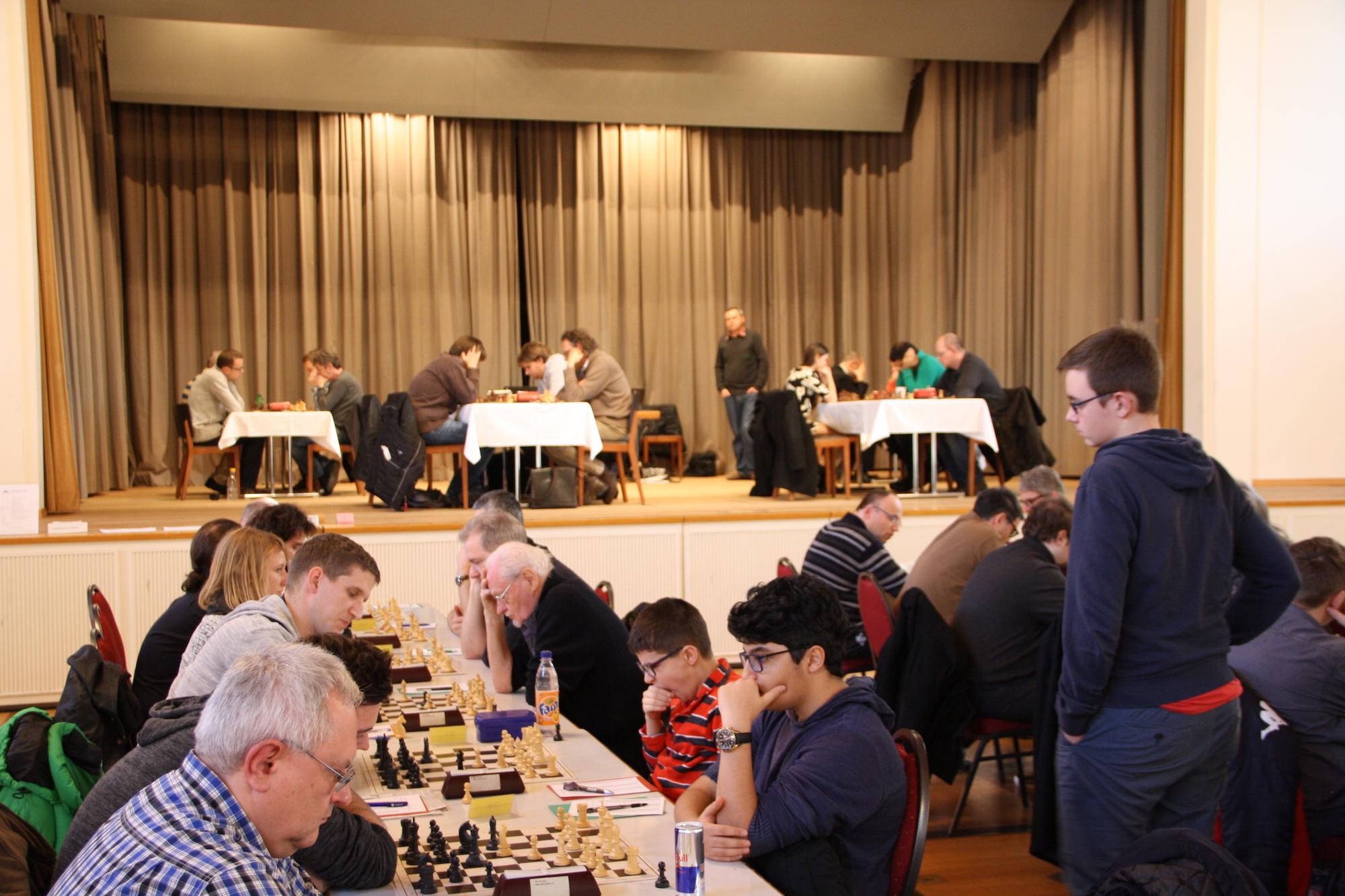 Das Basler Schachfestival im neuen Domizil im Landgasthof Riehen.