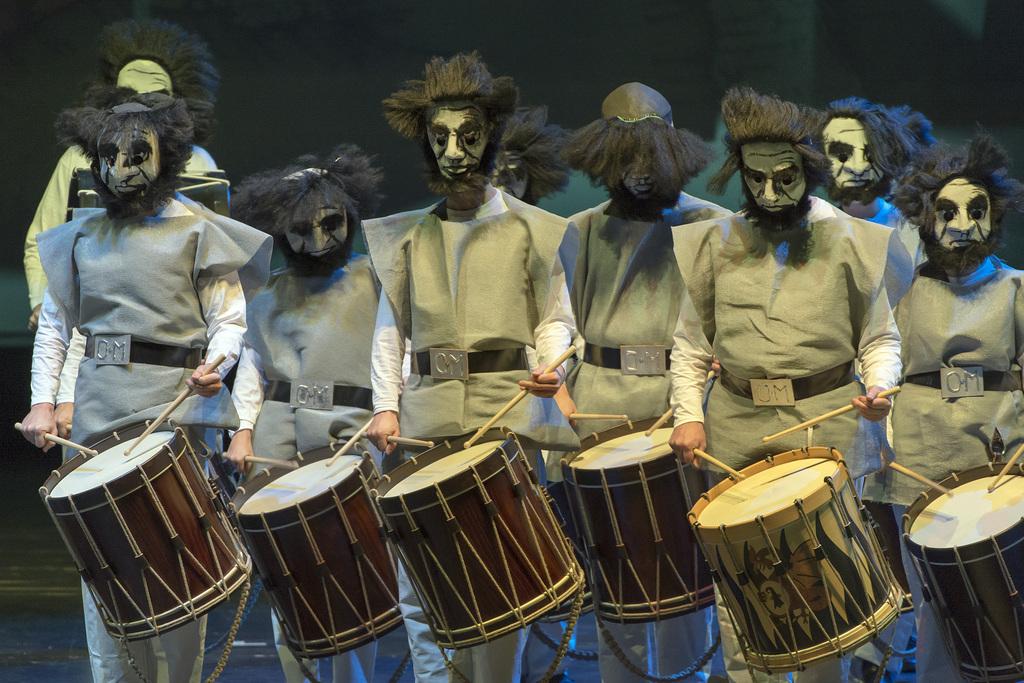 Tolle Entdeckung am diesjährigen Drummeli: «Rakes and Idiots» von den Opti-Mischte