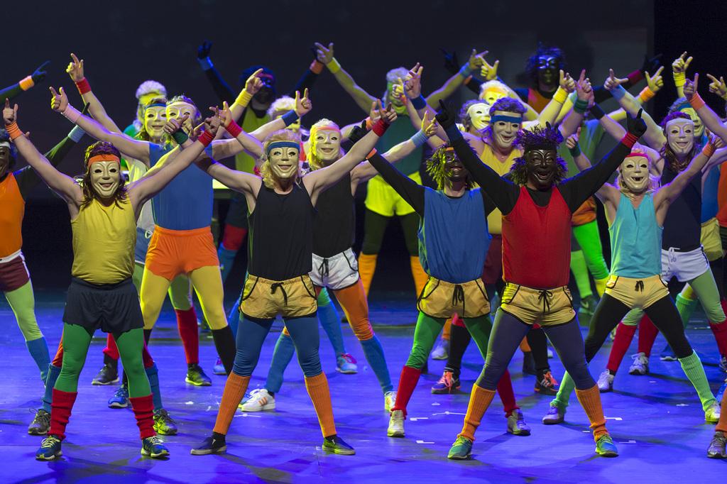 Von wegen steife Basler Fasnacht: Beim Dupf-Club tanzen sogar die Zuschauer mit.