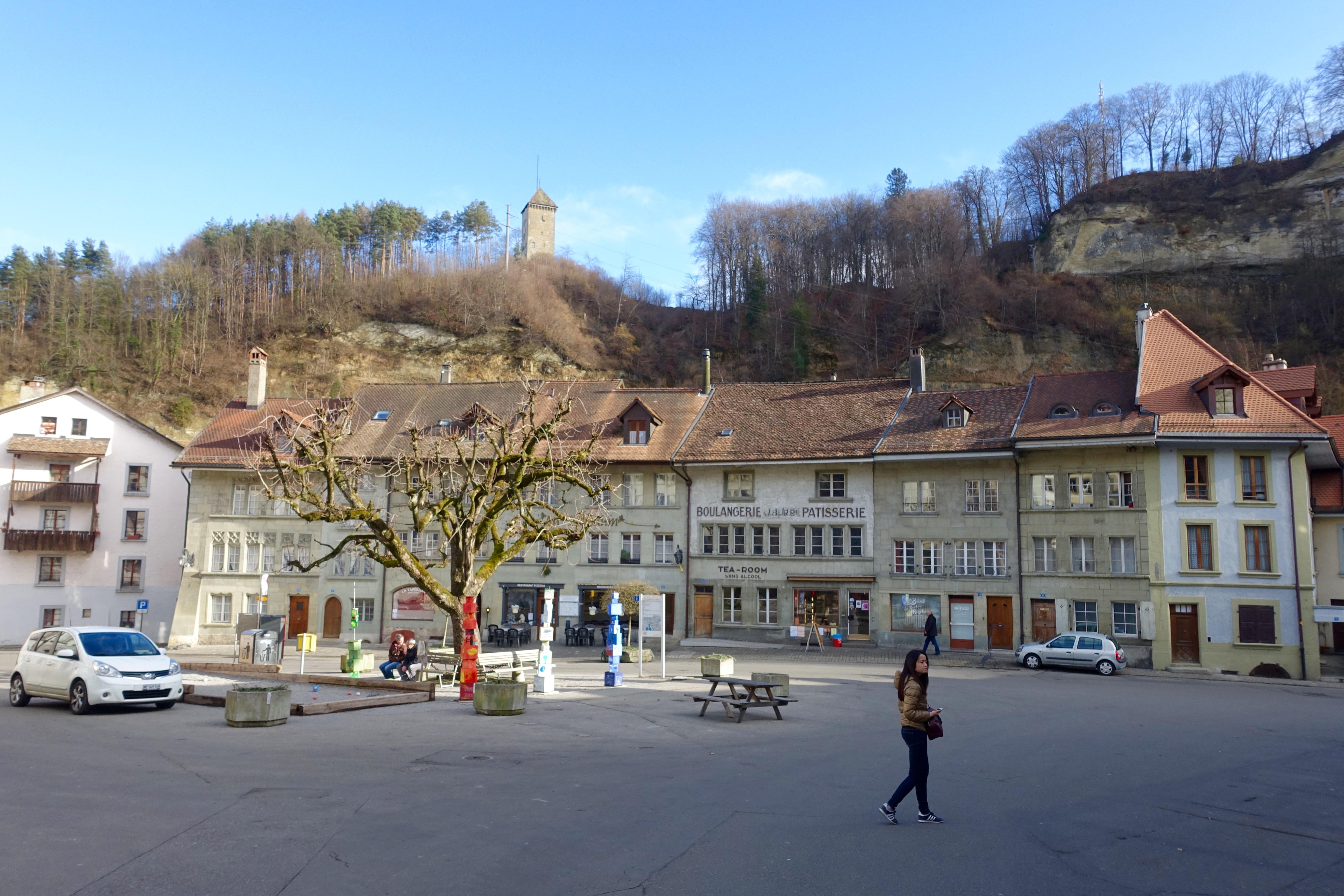 Zentrum der «Bolze»-Kultur: Der Place du Petit-Saint-Jean.