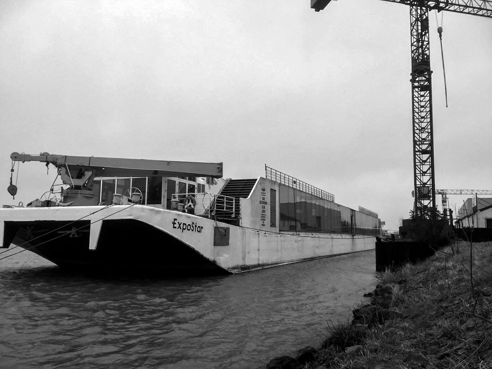 Die Expostar wird in Holland komplett renoviert.