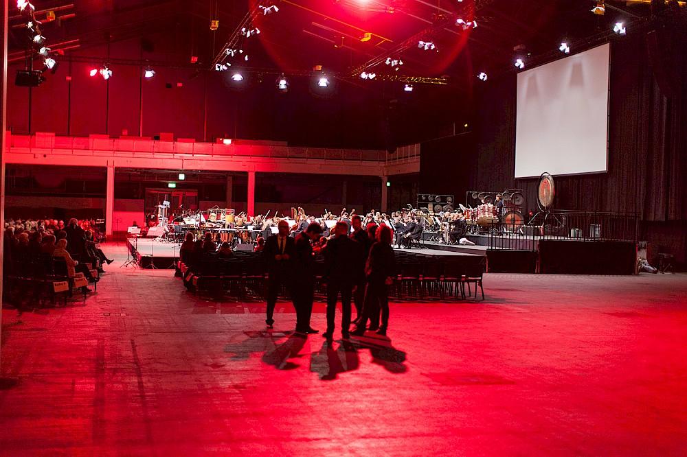Basel Sinfonietta hat mit der Messehalle 3 bereits einen neuen Spielort ausprobiert.