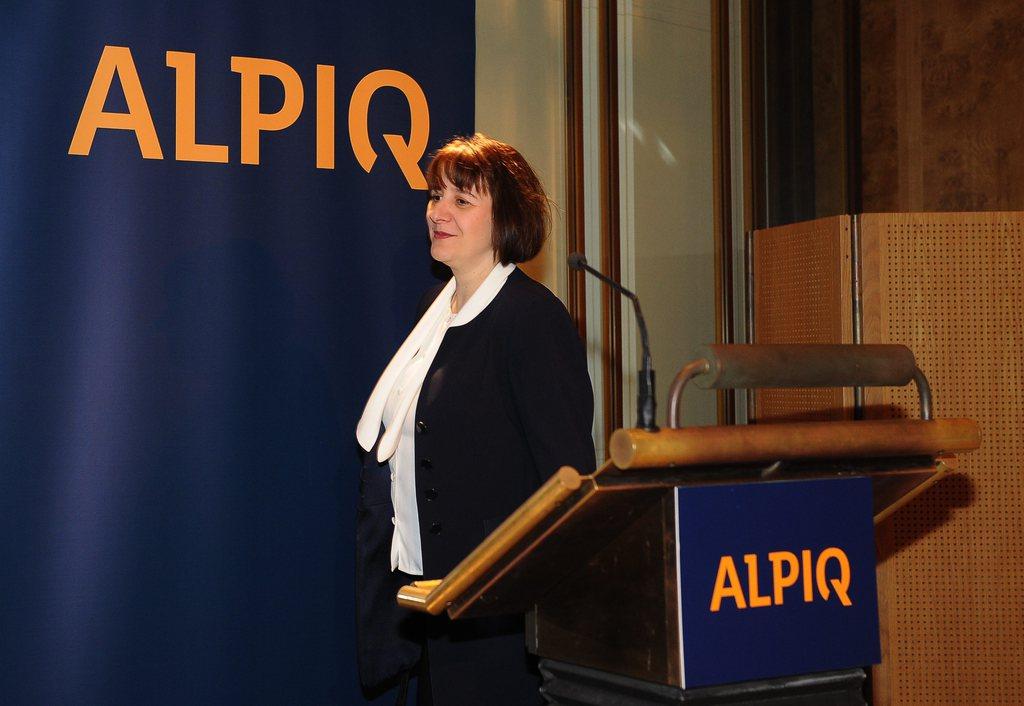 Jasmin Staiblin, CEO der Energiegruppe Alpiq muss für das vergangene Geschäftsjahr erneut einen Milliardenverlust kommunizieren.