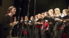 <p>Der «20 years BScene anniversary choir» setzte mit speziellen Interpretationen von Klassikern der BScene-Geschichte den