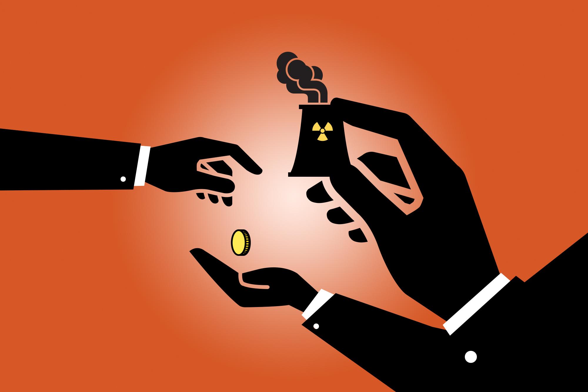 Die Gewinne privat, die Verluste dem Staat: So hätten es die unrentablen AKWs jetzt gerne.
