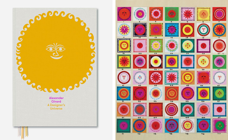 Lachende Sonnen, knallige Farben: Alexander Girard mochte es bunt.