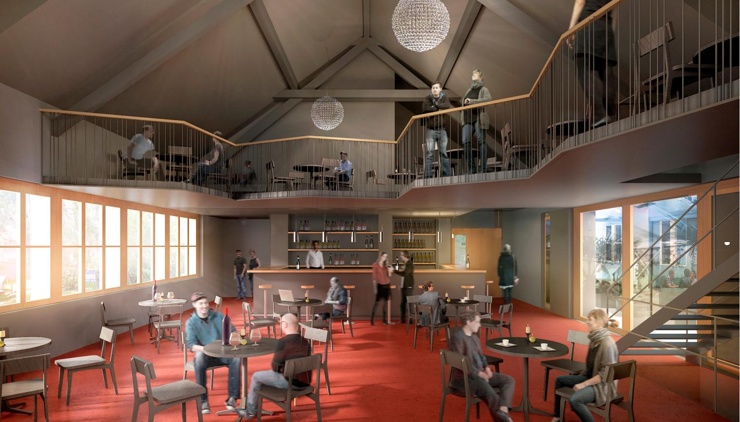Im Sommer wird das Parterre umgebaut. Der Konzertclub soll künftig eine Galerie erhalten und dadurch auch grösser werden.