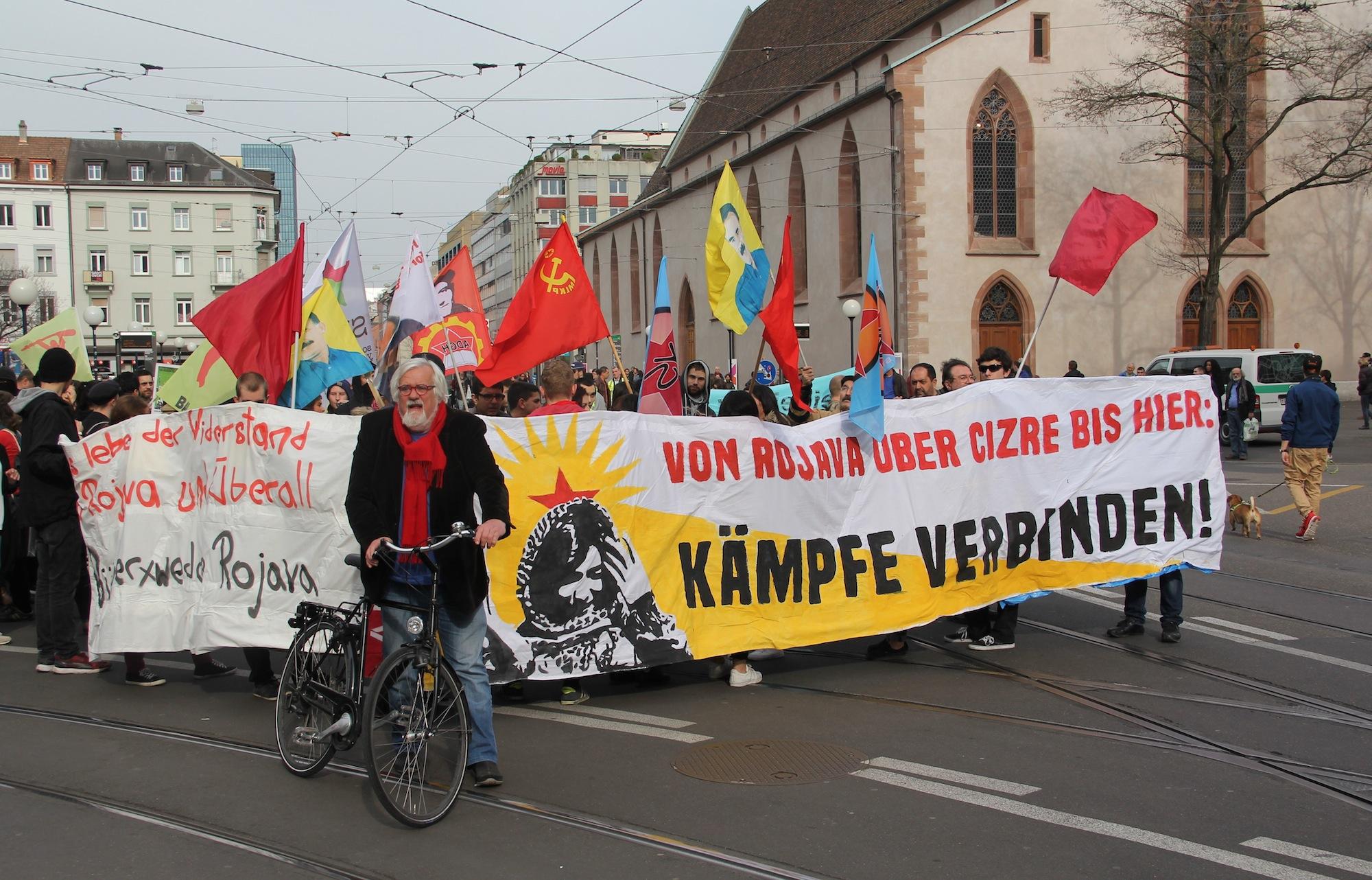 Der Vermittler nimmt Abschied von den Demos: Für den ehemaligen Grossrat Urs Müller war es der letzte Einsatz dieser Art.