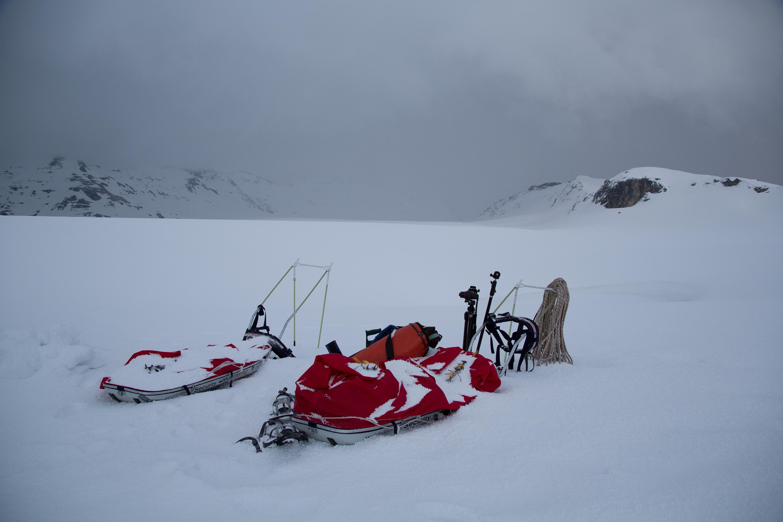 Die Erforschung der Gletscherhöhlen ist nicht zuletzt eine organisatorische Herausforderung.