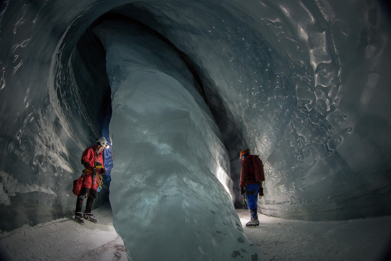 «Die Neugier treibt uns zwar in erster Linie an, doch die Schönheit des Eises ist ähnlich fesselnd.»