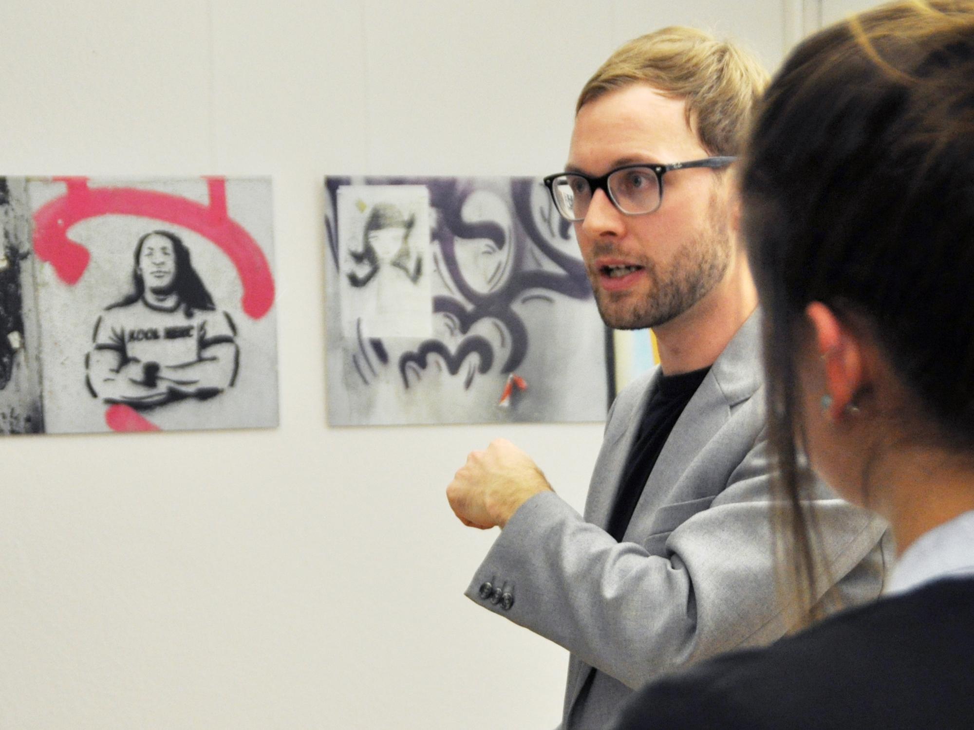«Das Rätsel um seine Person ist Banksys interessantestes Kunstwerk»: Kunstwissenschaftler Ulrich Blanché.