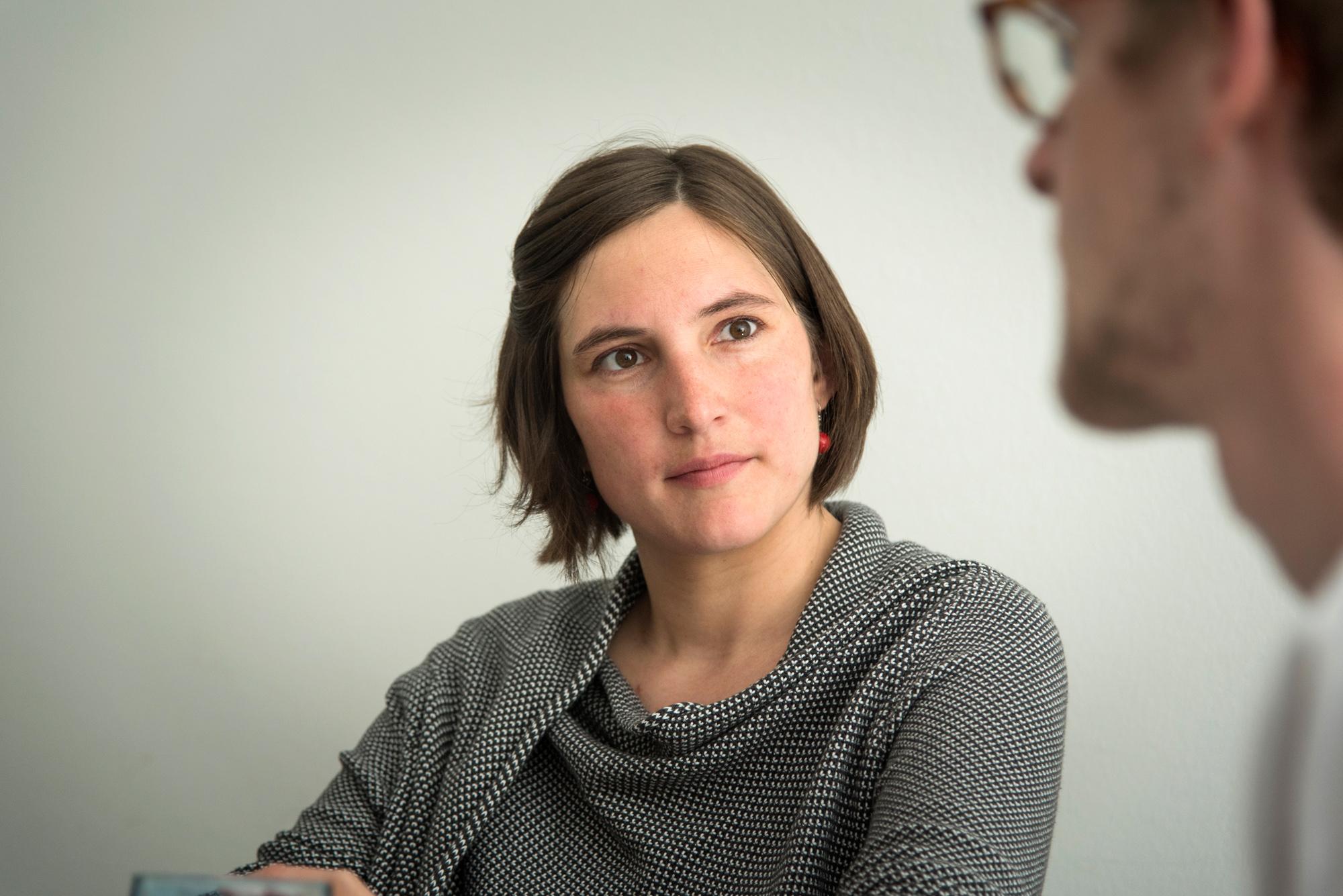 Nach Abschluss ihres Studiums in Soziokultureller Animation nunmehr seit sieben Jahren beim JRK: Die 31-jährige Anna Greub.