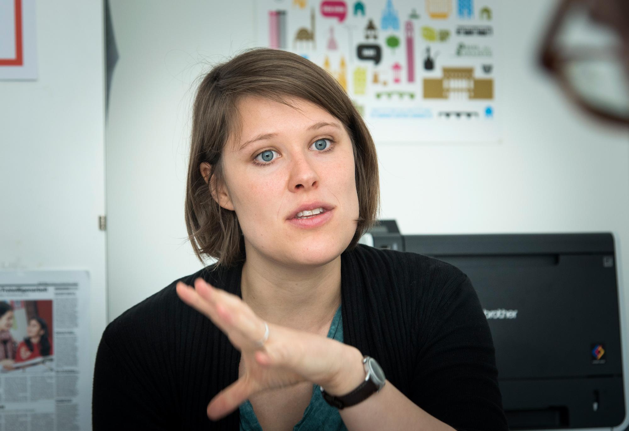 Studiert nebenher Geschichte und Erziehungswissenschaften in Bern: Die 28-jährige Lena Bässler.