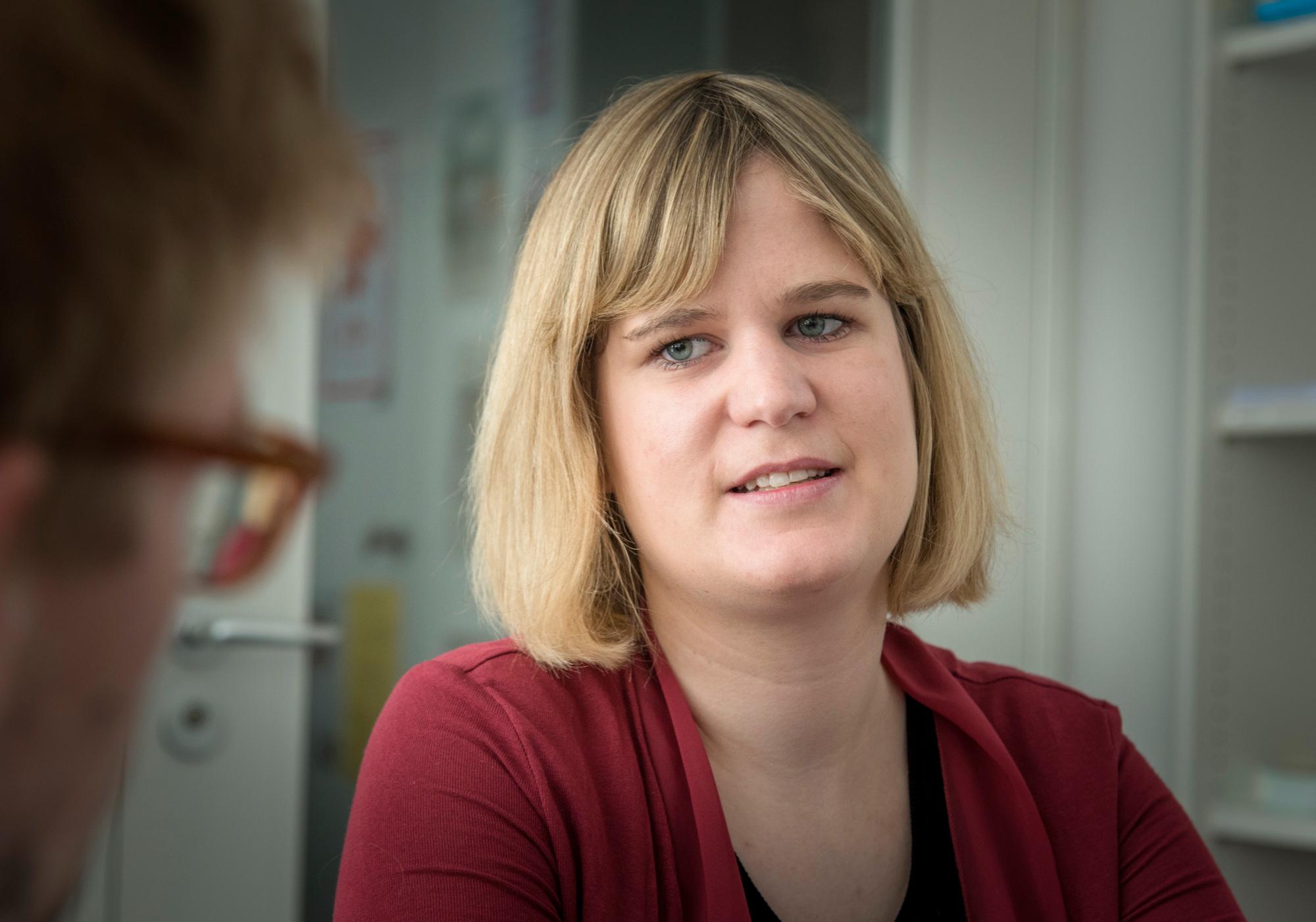 Seit 2006 als Freiwillige mit dabei: Die 27-jährige Jus-Studentin Danielle Breitenbücher.