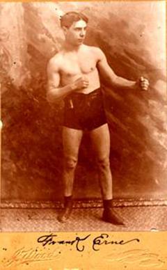 Frank Erne durfte sich 1896 als erster Schweizer Box-Weltmeister nennen.