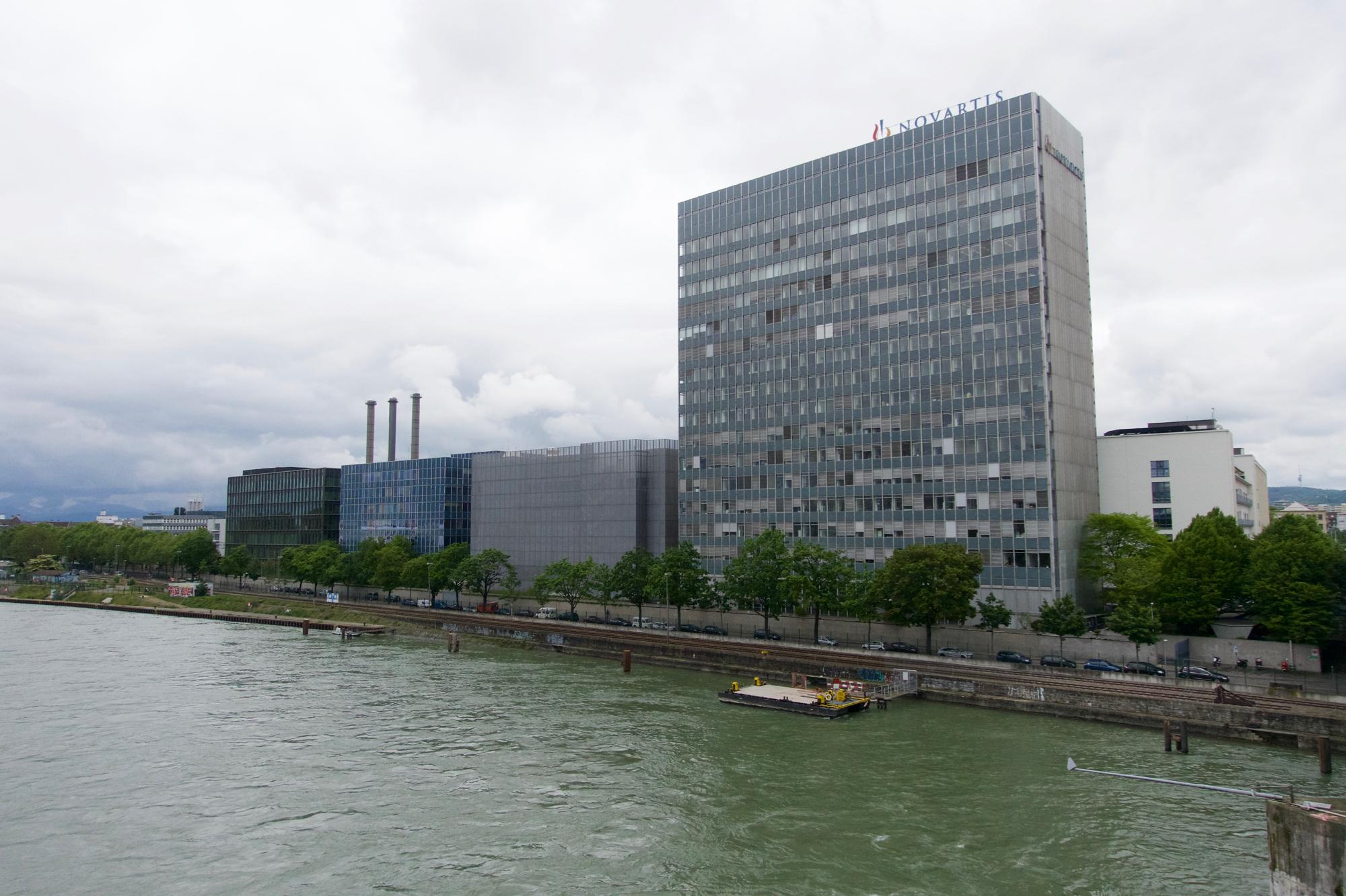 Das Filetstück am Rheinufer möchte Novartis als strategische Reserve behalten.
