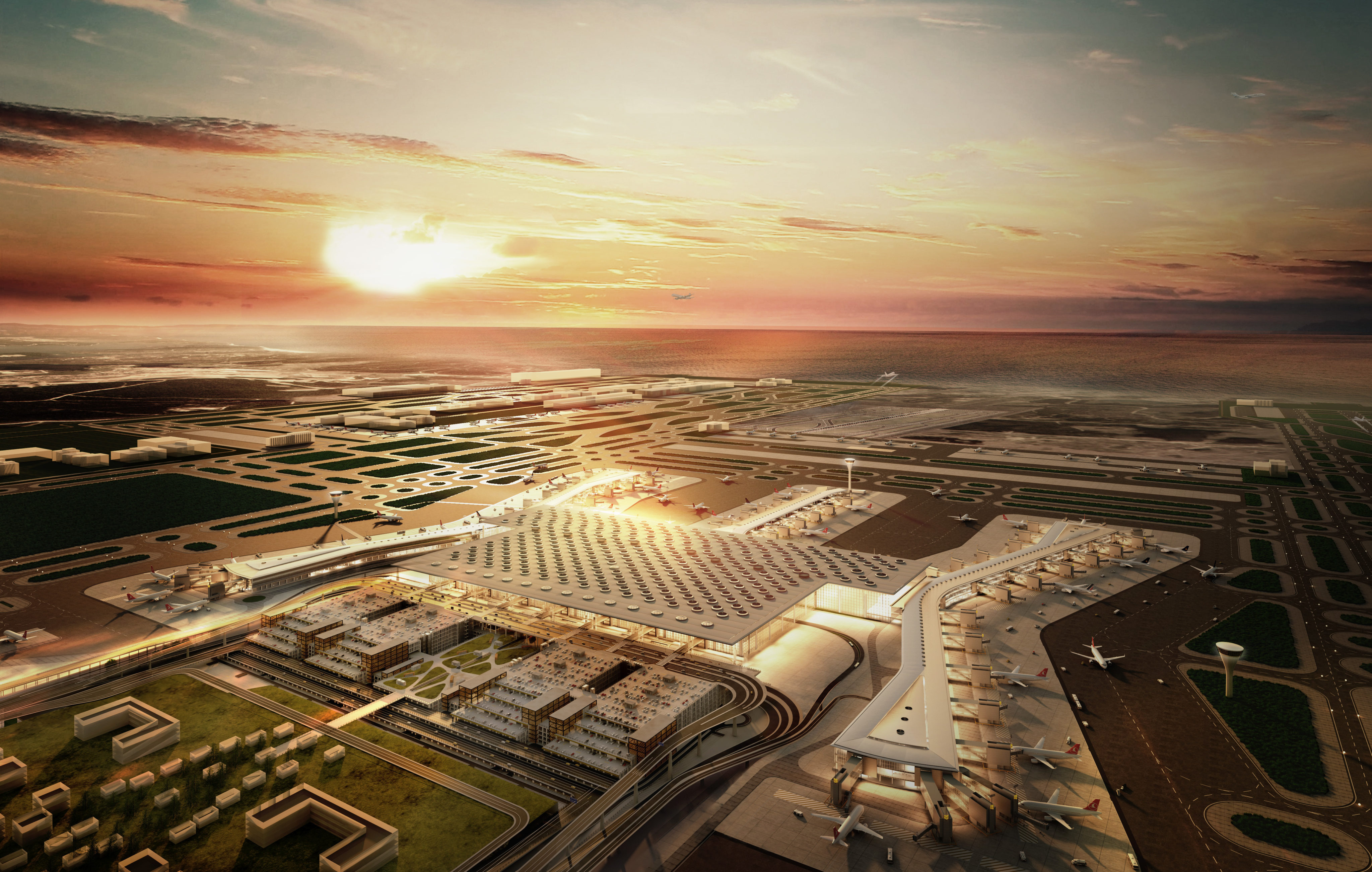 So Soll Der Gr 246 Sste Flughafen Der Welt Aussehen Tageswoche
