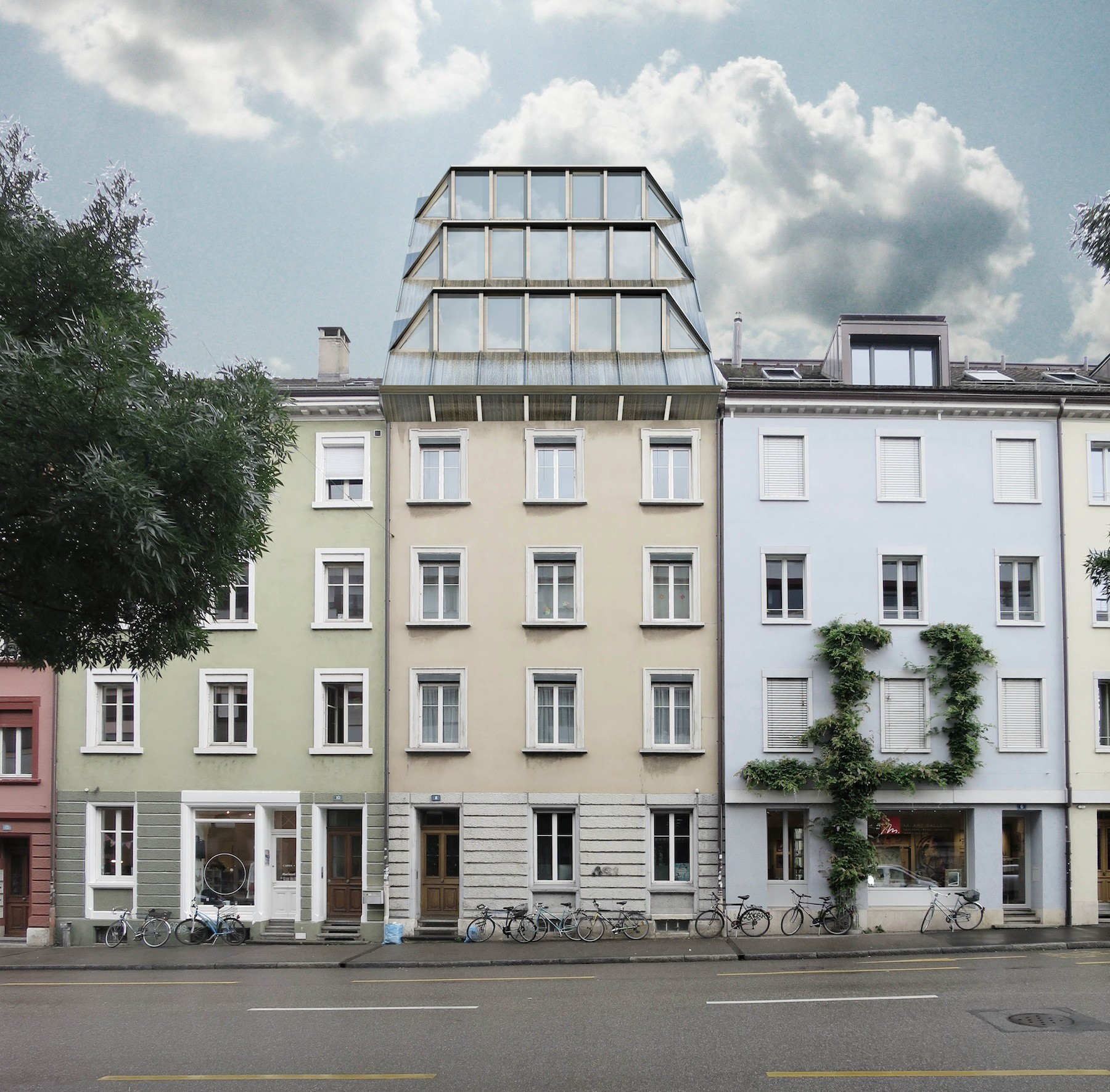 Wohnungsknappheit: Juso will Gebäude aufstocken | TagesWoche