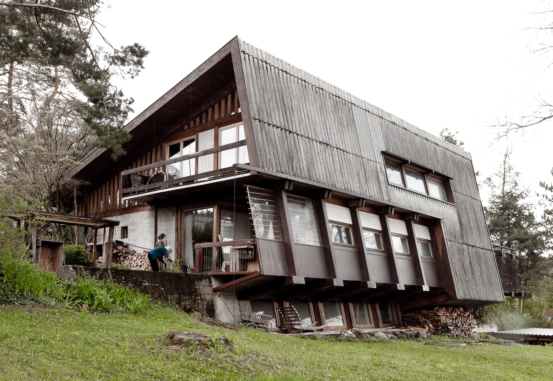 Wohn- und Atelierhaus in Gockhausen, 1957-59,