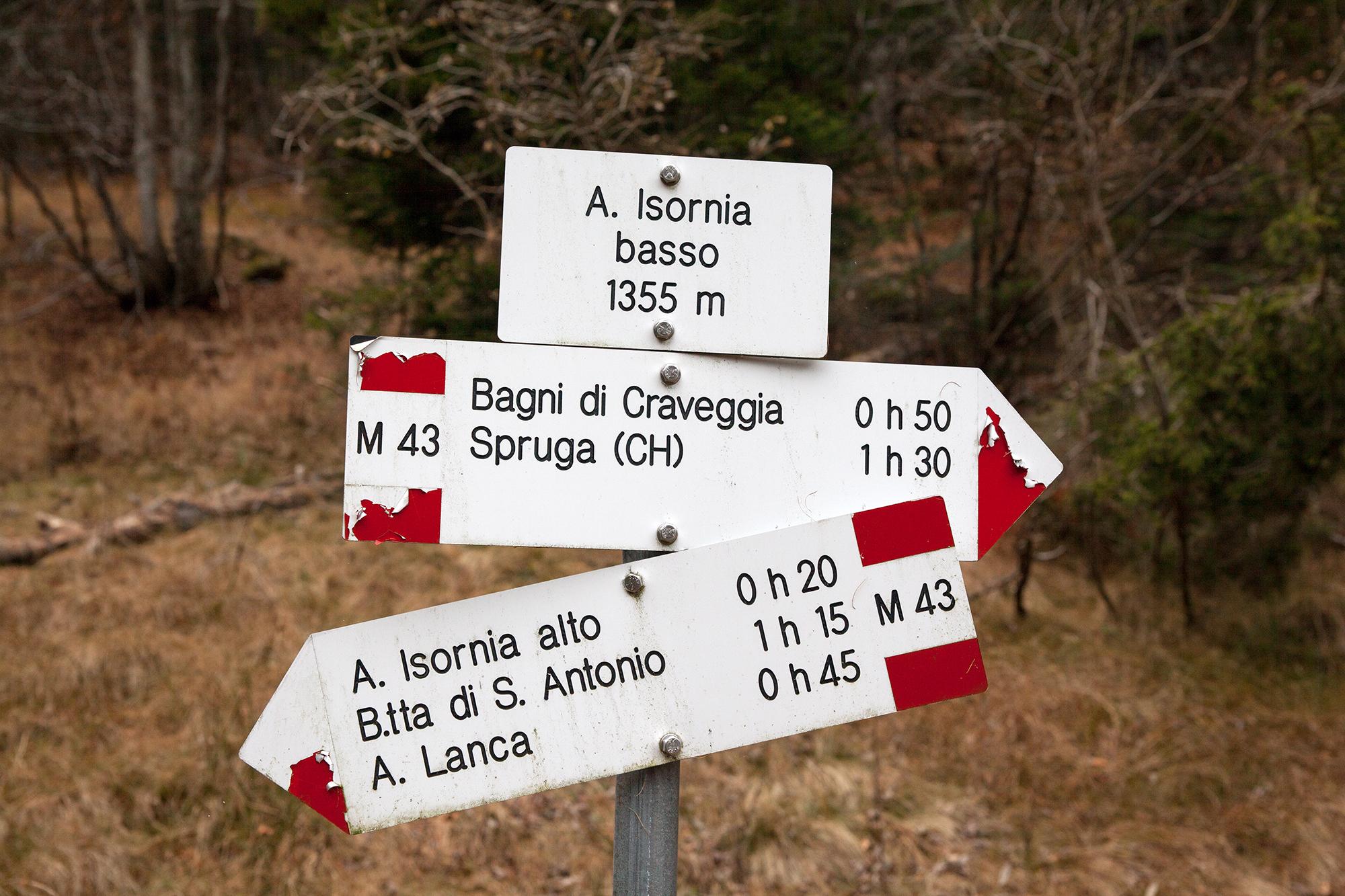 Ganz hinten im Onsernonetal führen die Wege meist an unbewohnte Orte. Einzig in Spruga leben ein paar Seelen.