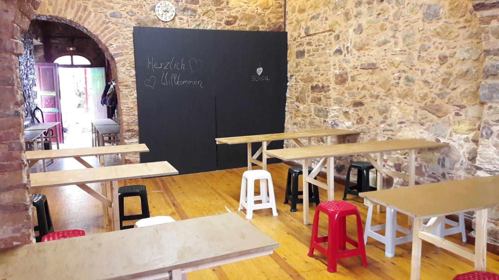 «In Syrien hatten wir nie eine so schöne Schule», sagt eines der Kinder.