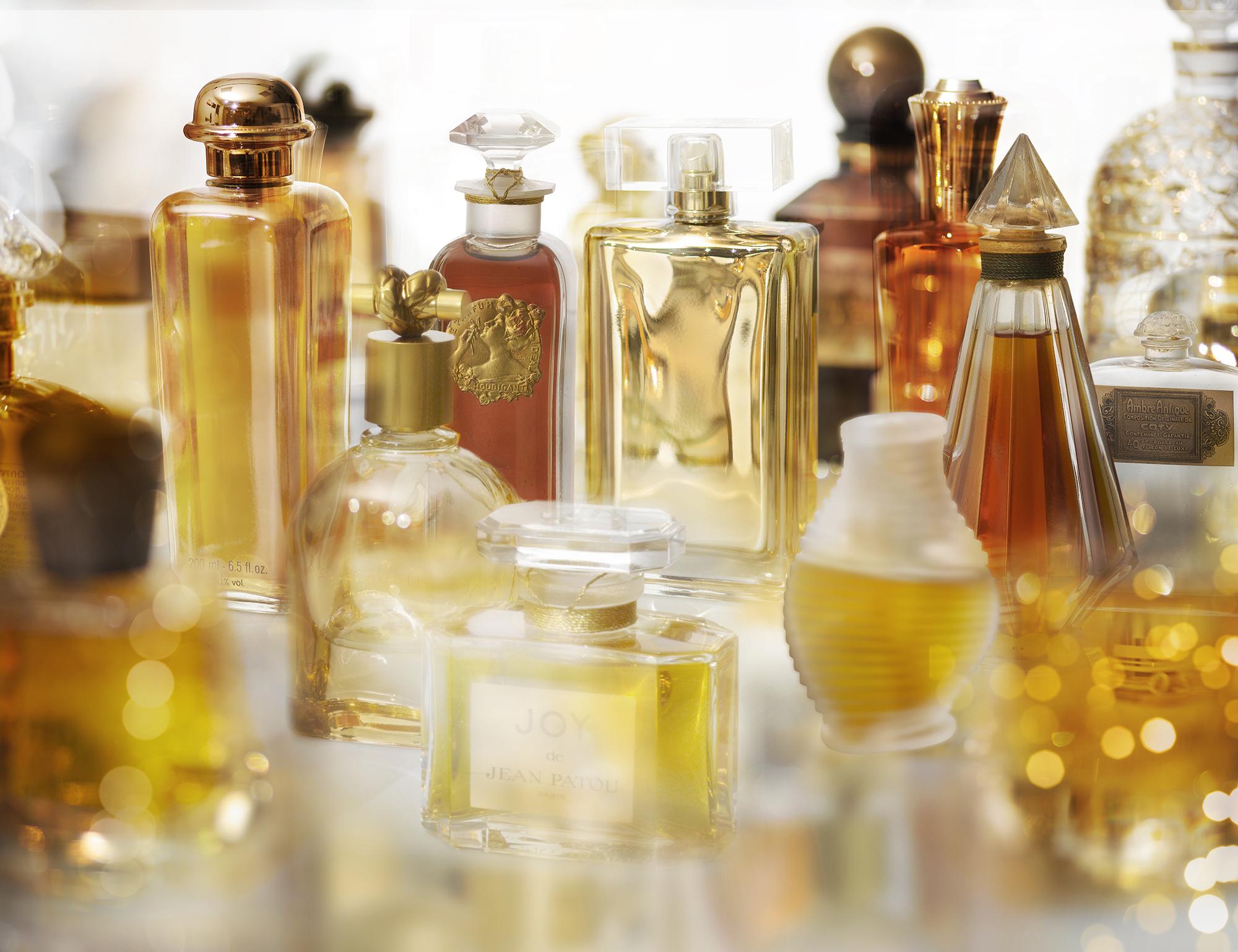 Das Auge riecht mit: Düfte aus dem goldenen Zeitalter der Parfumwelt.