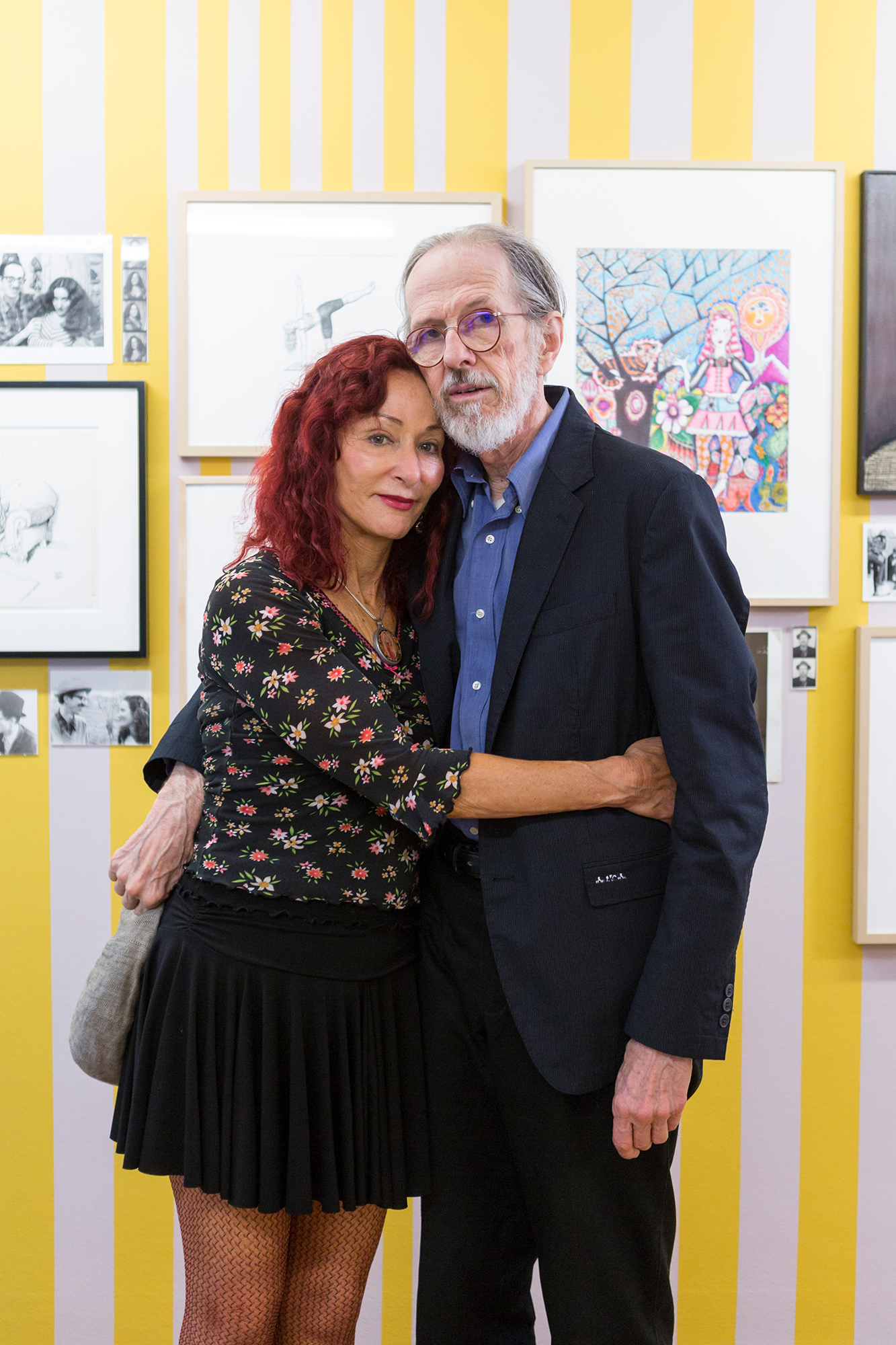 Der grosse Zeichner und seine grosse Zeichnerin: Aline und Robert Crumb in der neuen Ausstellung im Cartoonmuseum.