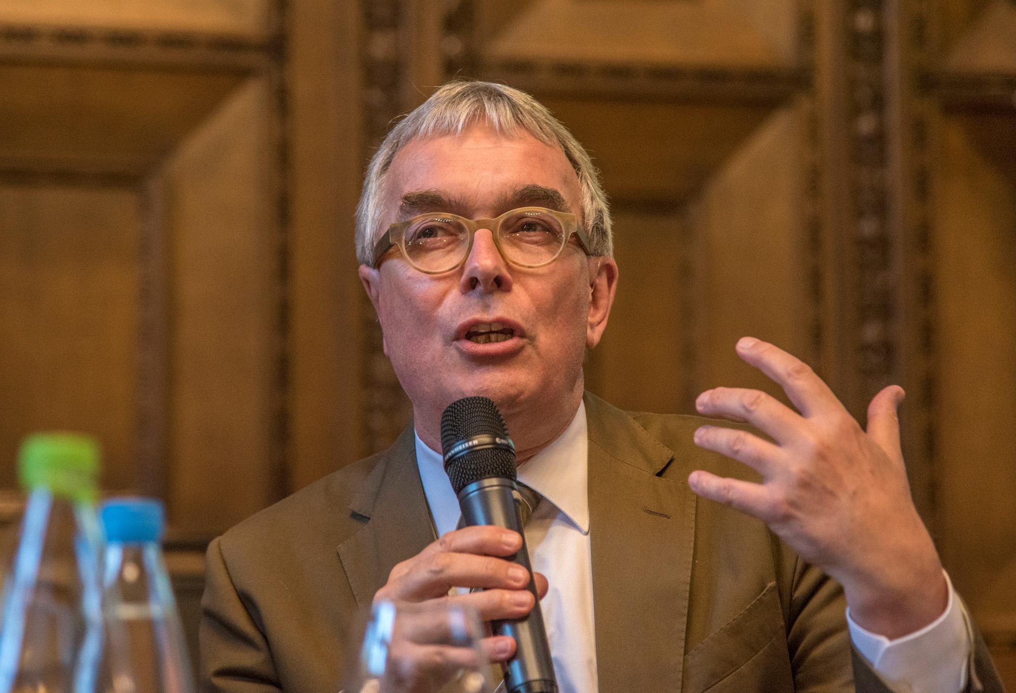 Regierungsrat Christoph Brutschin.
