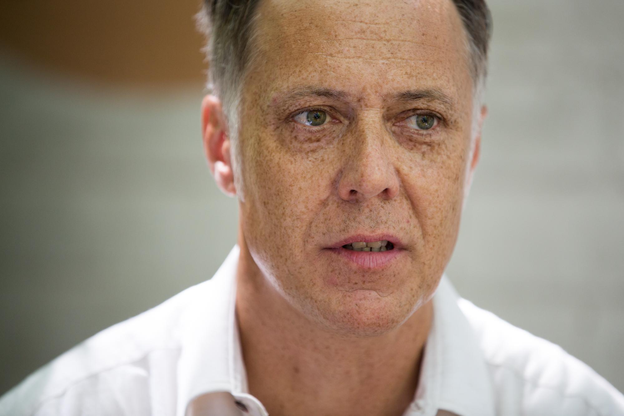 Albert Riedlin kämpft seit über drei Jahren gegen die Kündigung am Burgweg, wo er eine Werkstatt für Audio-Technik betreibt.