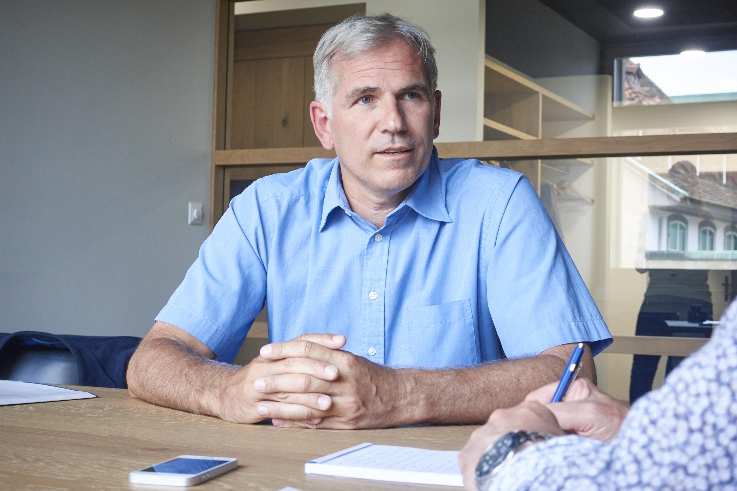 «Bei der jetzigen Basler Regierung ging vor allem der untere Mittelstand vergessen.» SVP-Regierungsratskandidat Lorenz Nägelin zu den Gründen, warum man ihn wählen sollte.