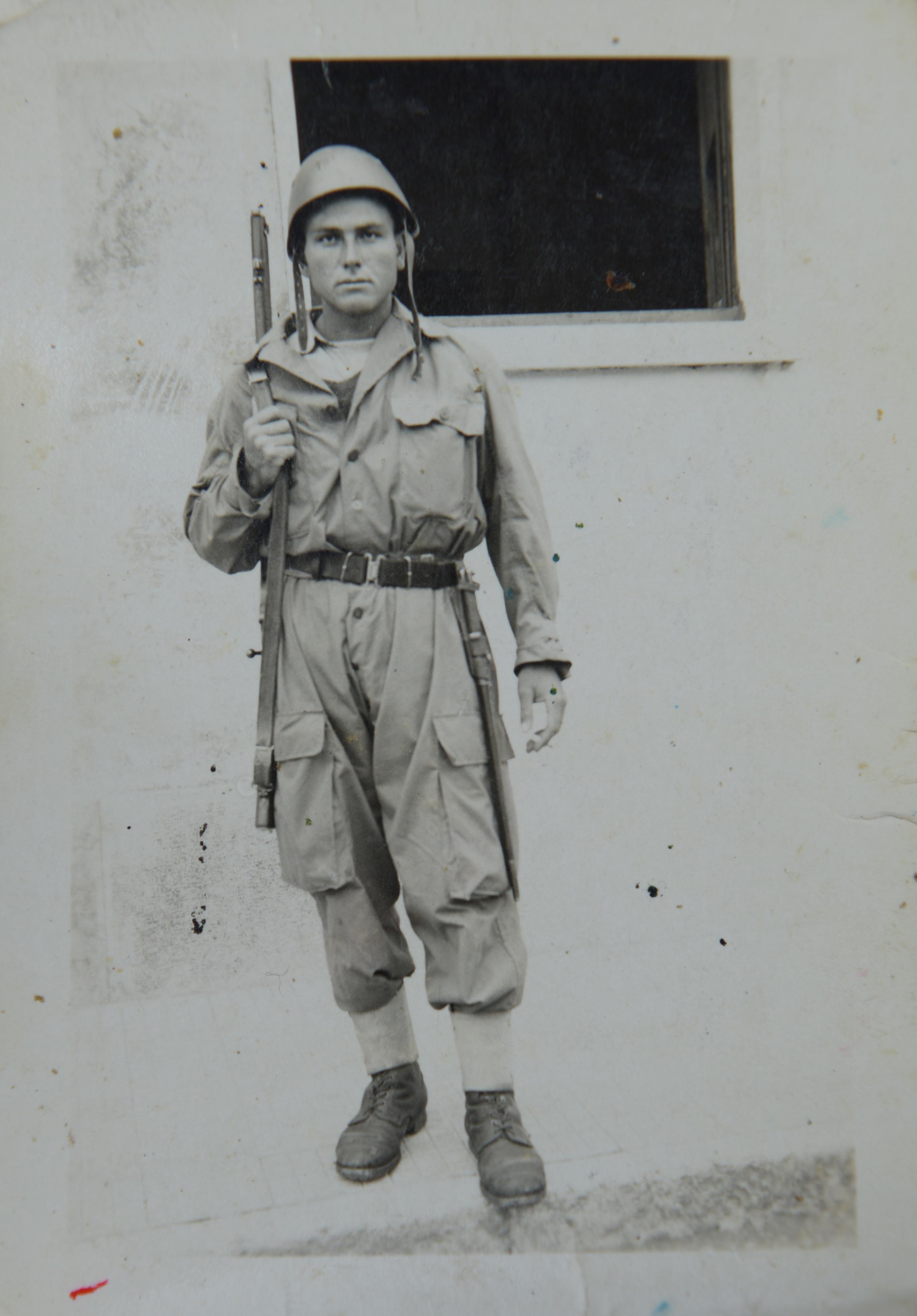 Traumatische Erfahrung: Nonno Ciccio als 17-jähriger Soldat.