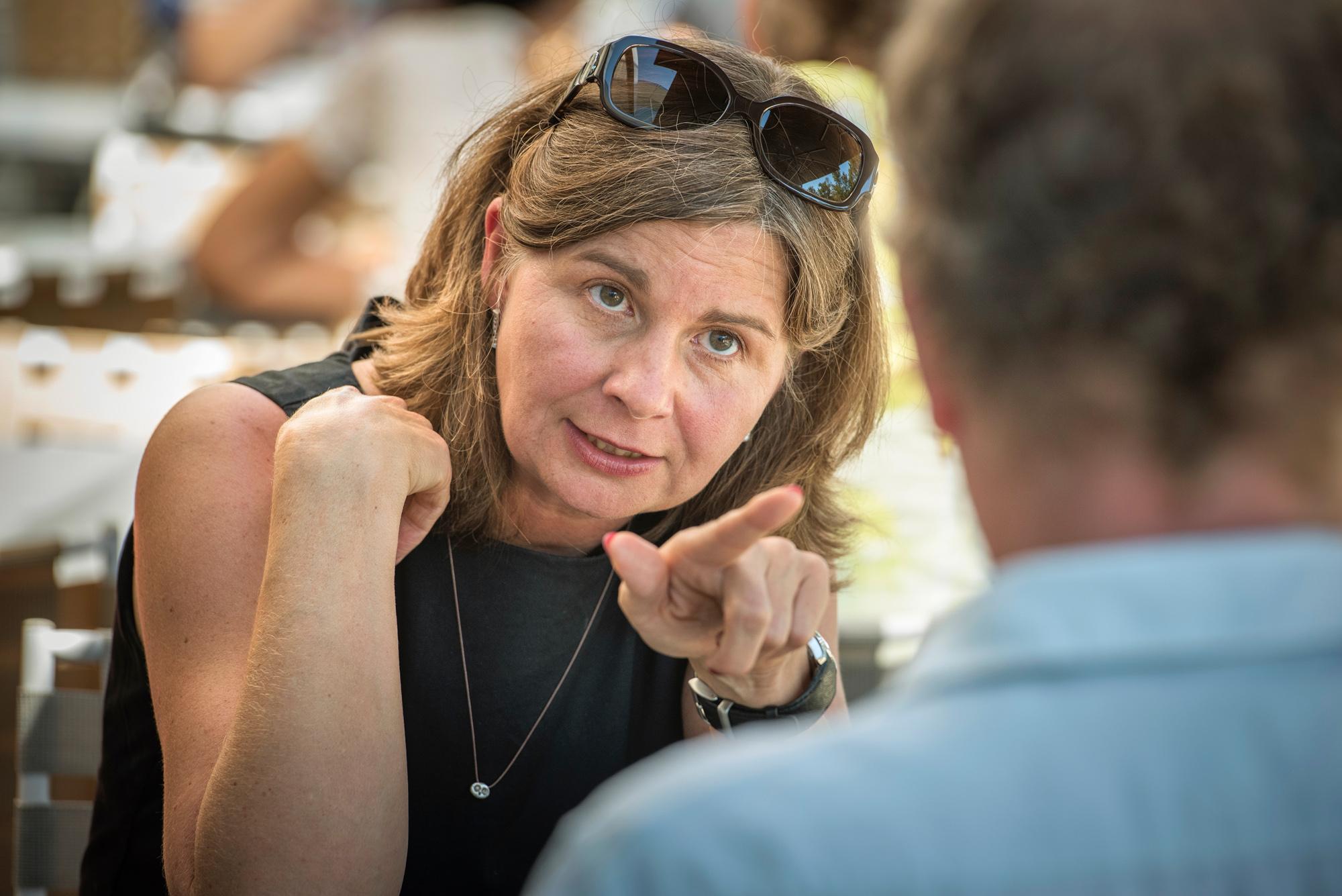 «Ich bin nicht der Meinung, dass der Staat auf jedem Gebiet alles subventionieren muss»: Martina Bernasconi, grünliberale Kandidatin für das Regierungsratspräsidium.