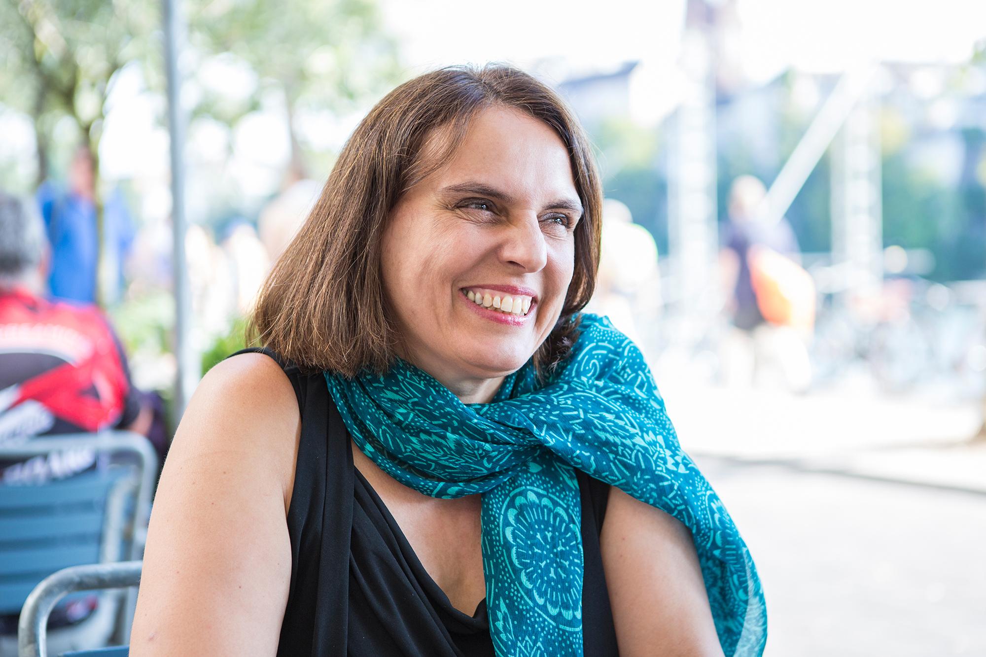 «Es wäre falsch, wenn nur eine Elite grün leben kann.»Elisabeth Ackermann, Öko-Kandidatin mit sozialem Einschlag.