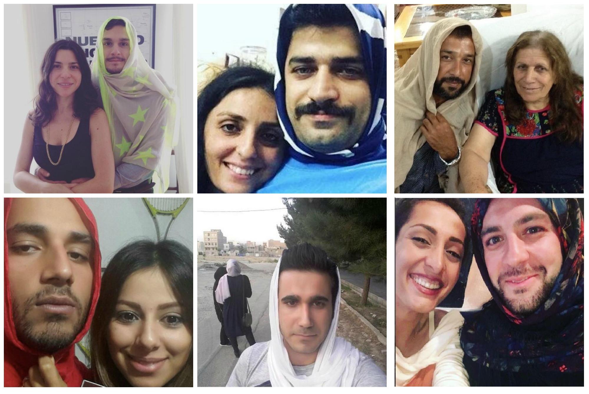 #MenInHijab: Im Iran wird der Kopftuchzwang humorvoll unterwandert.